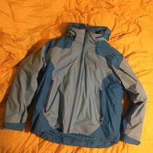L.L. Bean Weather Challenger 3 in 1 jacket